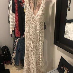 Betsy&Adam lace gown
